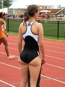 Amazing ass college in a awesome pic.